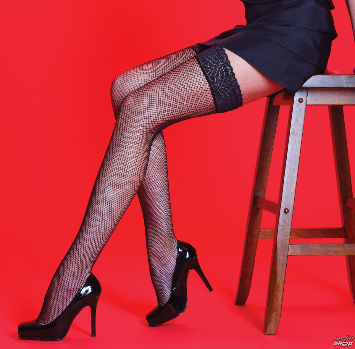 collant LEGWEAR - Scarlet - Fishnet LT Whoops