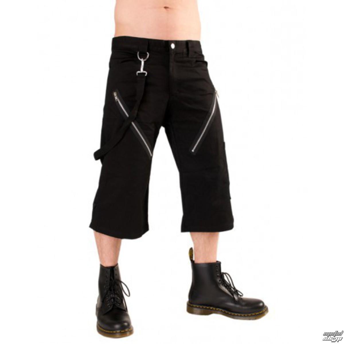Black Sons of Anarchy Gilet in jeans con tasche per pistola