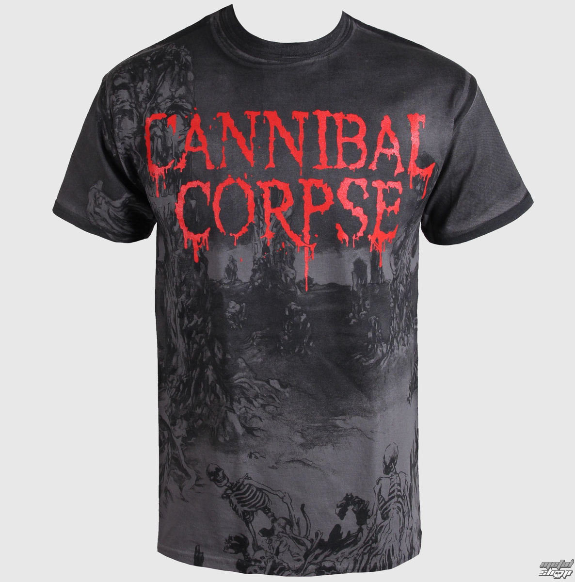 t-shirt metal Cannibal Corpse - - PLASTIC HEAD