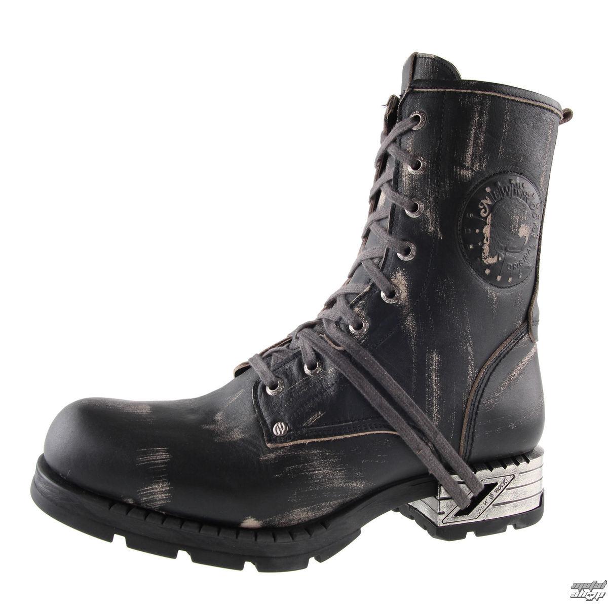 pick up d3804 61ee4 stivali in pelle uomo - NEW ROCK