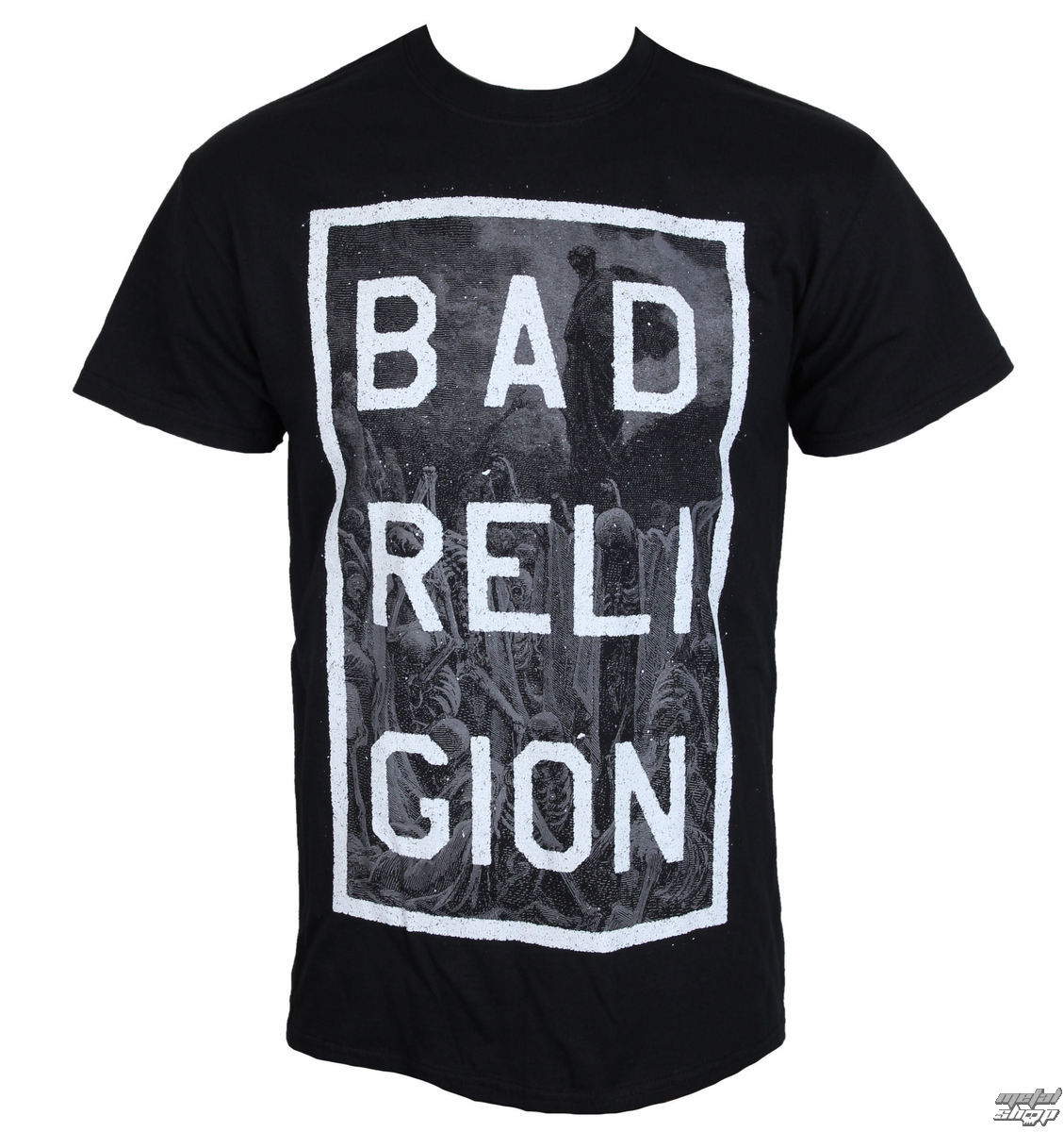 t-shirt metal uomo Bad Religion - Valley Of Death - KINGS ROAD