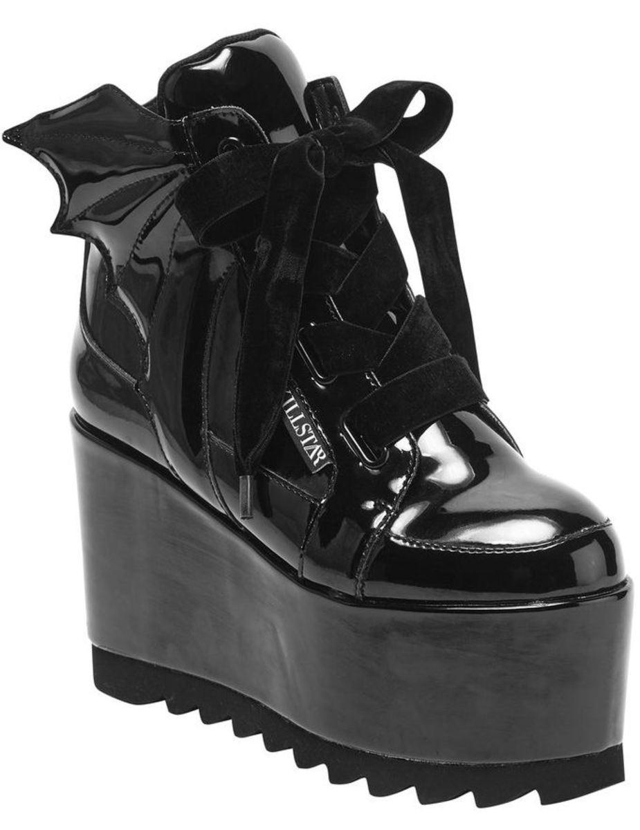 scarpe con cuneo donna KILLSTAR
