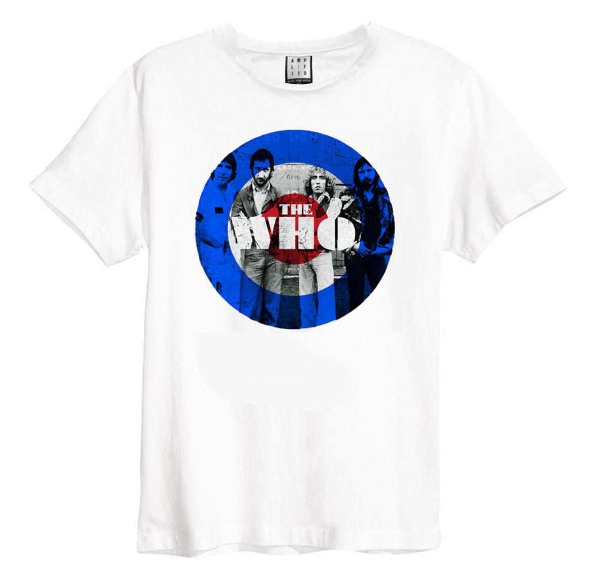 t-shirt metal uomo Who - WHT - AMPLIFIED
