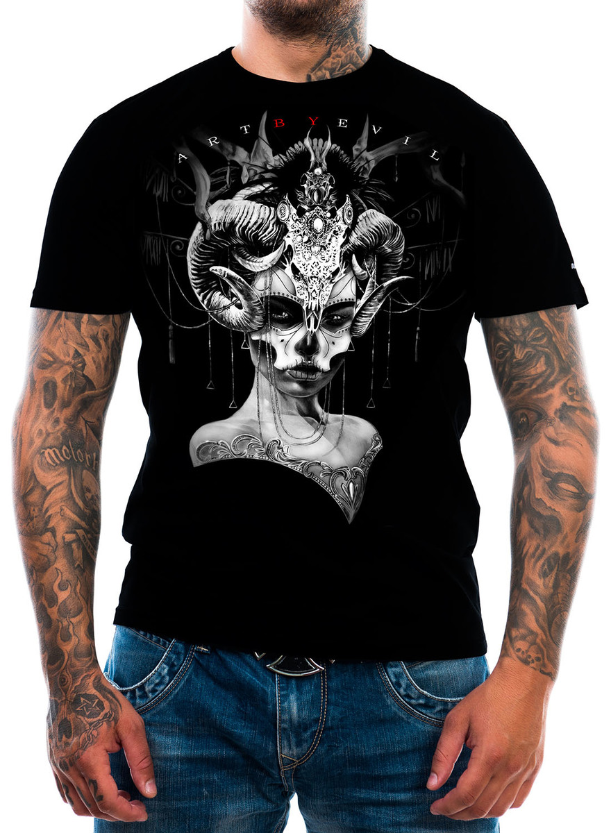 t-shirt uomo - Day of the Dead - ART BY EVIL