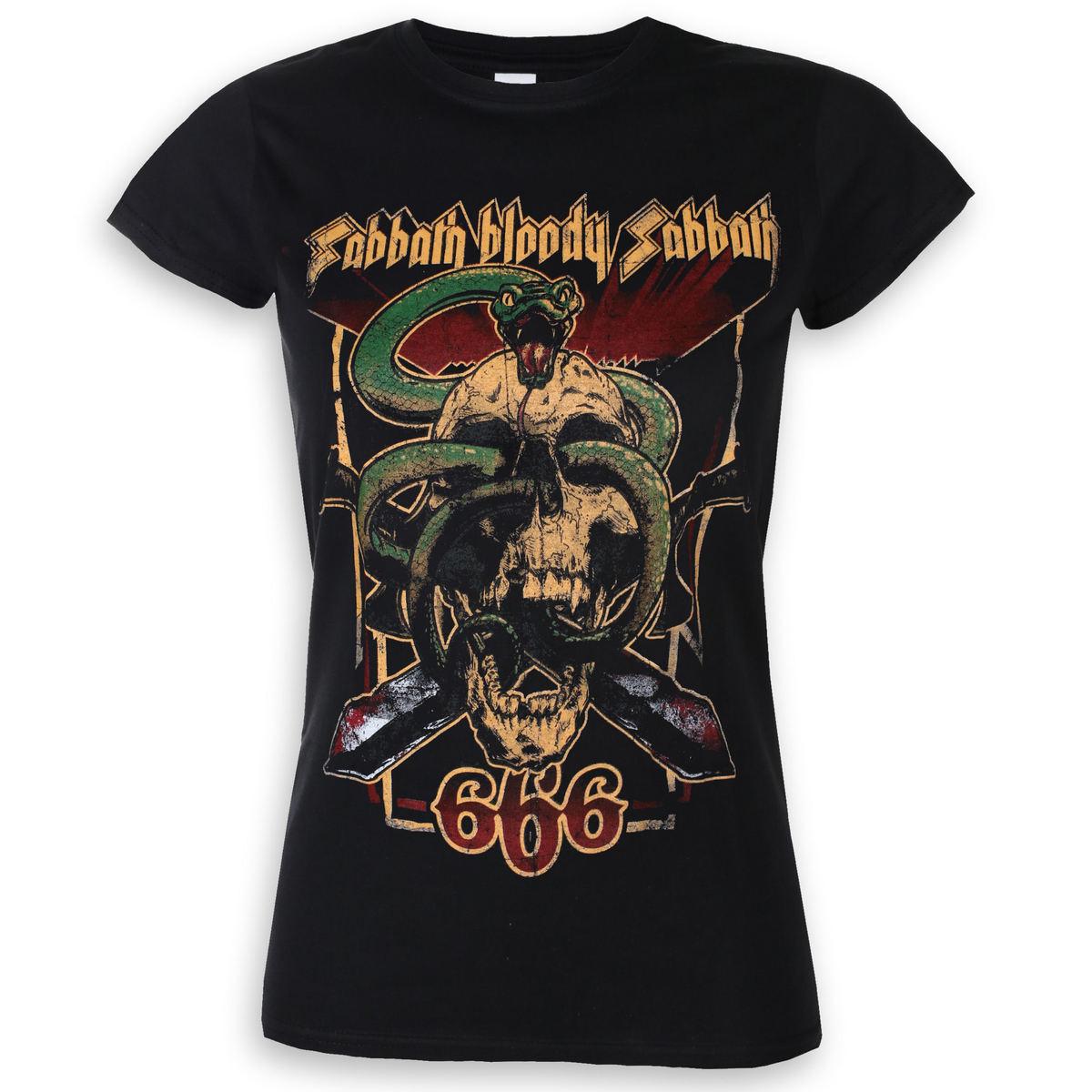 Rock Bsts32lb Black Sabbath 666 Maglietta Bloody Off UzVLqMpGjS