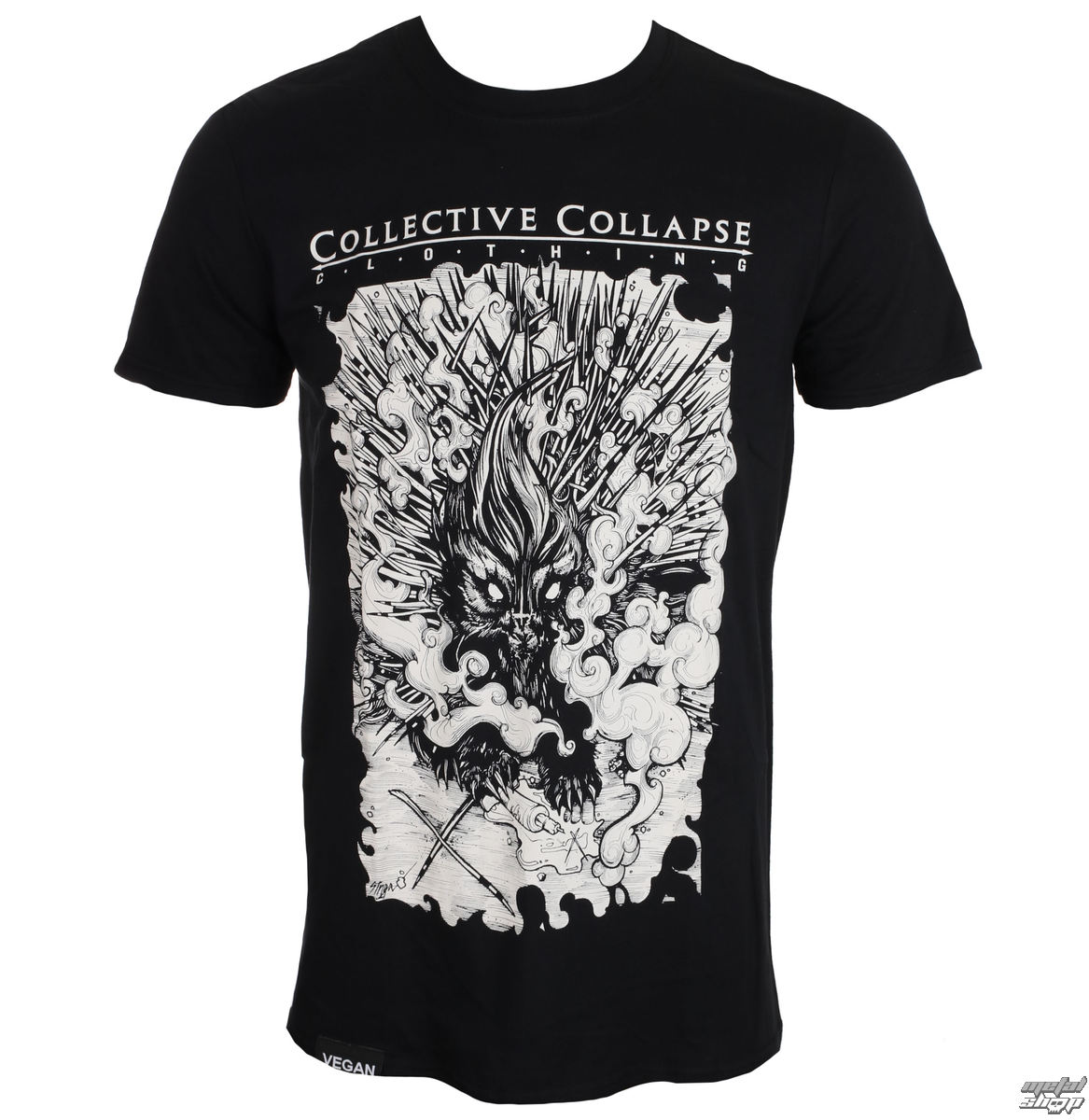 t-shirt uomo - Needless - COLLECTIVE COLLAPSE
