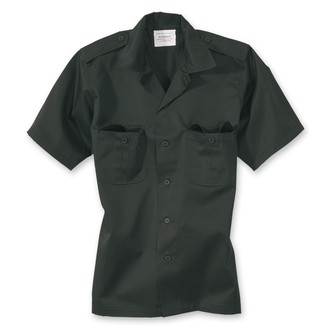 camicia SURPLUS - US Hemd 1/2 - BLACK - 06-3582-03
