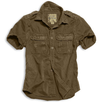 camicia SURPLUS - 1/2 Crudo Vintage Shirt - BROWN - 06-3590-05