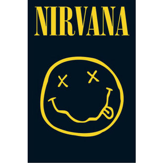 poster - Nirvana - Smiley - GB posters - LP1416