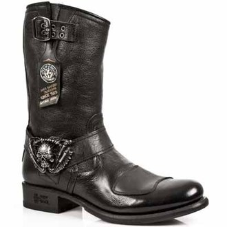stivali in pelle donna - GY07-S1 - NEW ROCK