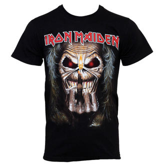 t-shirt metal Iron Maiden - Eddie Candle - ROCK OFF - IMTEE15