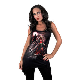 vestito donna SPIRAL - Blood Moon - Gothbotm Viscose - AS135234