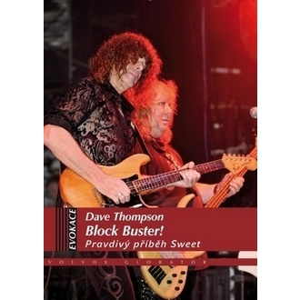 libro Blocco Buster - Vero storia Sweet, The Sweet