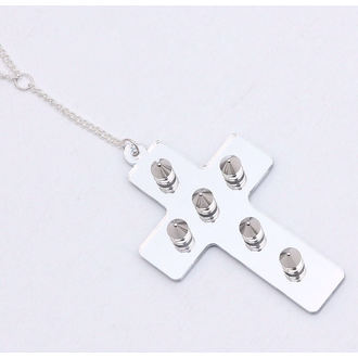 collana Extreme Largeness - White Cross, Extreme Largeness