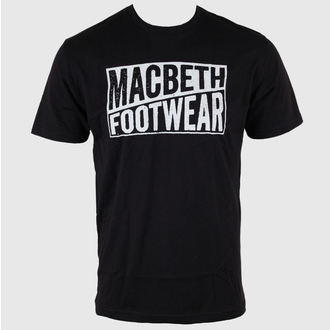 t-shirt street uomo - Old Type - MACBETH - Black Classic