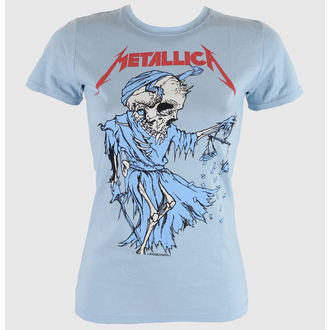 t-shirt metal donna Metallica - Cartoon Reaper - BRAVADO - MET1381