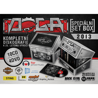 speciale Set scatola DOGA - 10 CD + 4DVD
