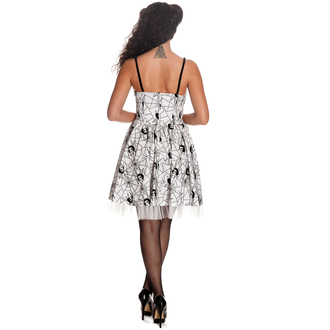 vestito donna HELL BUNNY - Mary Jane - WHT