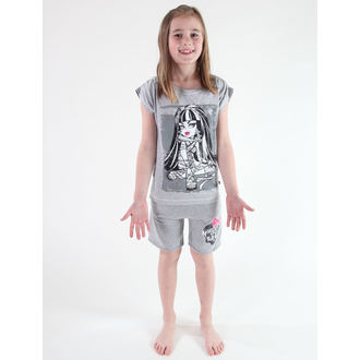 pantaloncini donna TV MANIA - Monster High - Grigio, TV MANIA