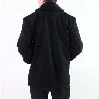 cappotto maschile ROTHCO - PEA COAT - BLACK, ROTHCO