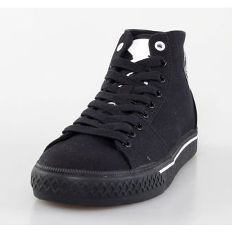 scarpe da ginnastica alte donna Misfits - Misfits High Top - IRON FIST - Black, IRON FIST, Misfits