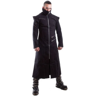 cappotto maschile -primaverile-autunnale- NECESSARY EVIL - Odin Full Lunghezza - Nero, NECESSARY EVIL