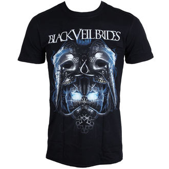 t-shirt metal uomo Black Veil Brides - Metal Mask - LIVE NATION, LIVE NATION, Black Veil Brides