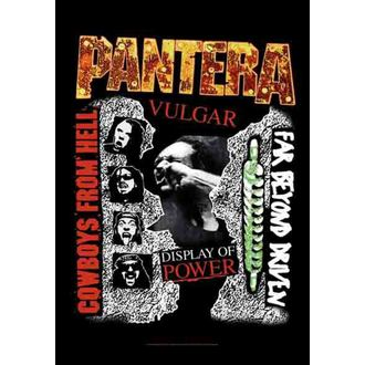 bandiera Pantera - 3 Album, HEART ROCK, Pantera