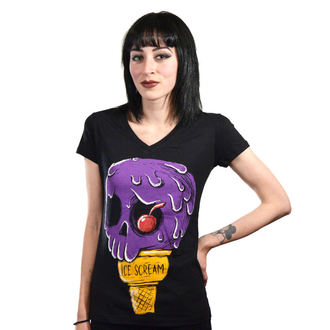 t-shirt hardcore donna - Ice Scream - Akumu Ink