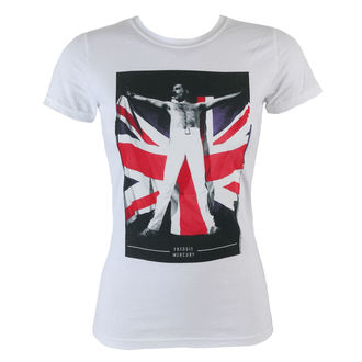 t-shirt metal donna Queen - Flag - BRAVADO, BRAVADO, Queen