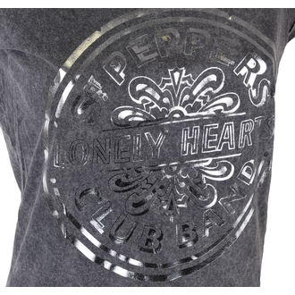 t-shirt metal donna Beatles - Pepper Drum - ROCK OFF, ROCK OFF, Beatles