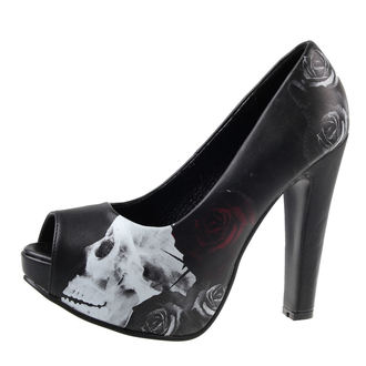 scarpe con il tacco donna - MYSTERIOUS PUMP - METAL MULISHA, METAL MULISHA