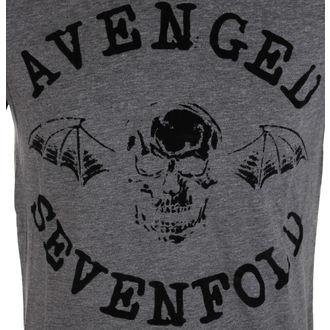 t-shirt metal uomo Avenged Sevenfold - Classic Deathbat Acid Wash - ROCK OFF, ROCK OFF, Avenged Sevenfold