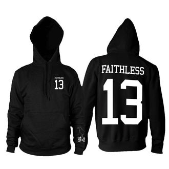 felpa con capuccio uomo - Faithless 13 - BLACK CRAFT - HS030FL