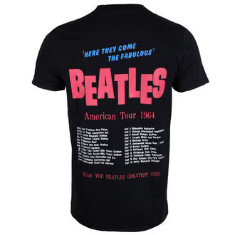 t-shirt metal uomo Beatles - American Tour 1964 - ROCK OFF, ROCK OFF, Beatles