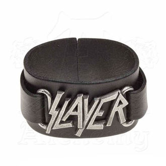 Braccialetto Slayer - ALCHEMY GOTHIC - Logo, ALCHEMY GOTHIC, Slayer
