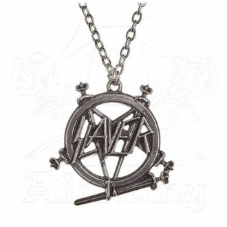 Collare Slayer - ALCHEMY GOTHIC - Pentagramma, ALCHEMY GOTHIC, Slayer
