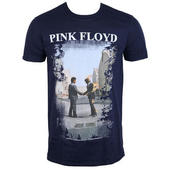 t-shirt metal uomo Pink Floyd - Burning Man Navy - LOW FREQUENCY, LOW FREQUENCY, Pink Floyd