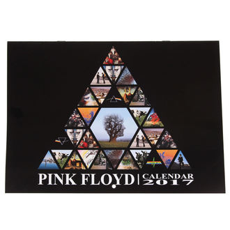 2017 calendario Pink Floyd - LOW FREQUENCY, LOW FREQUENCY, Pink Floyd