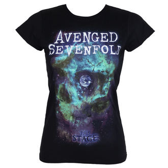 t-shirt metal donna Avenged Sevenfold - SPACE FACE - PLASTIC HEAD, PLASTIC HEAD, Avenged Sevenfold
