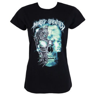 t-shirt metal donna Avenged Sevenfold - TURBO SKULL - PLASTIC HEAD, PLASTIC HEAD, Avenged Sevenfold