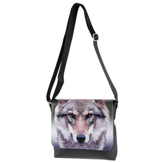 borsa Portrait of a Wolf
