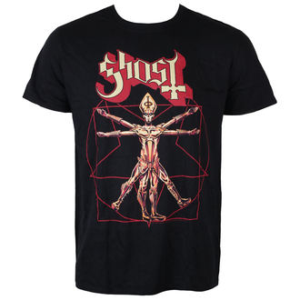 t-shirt metal uomo Ghost - Popestar Tour 2017 - ROCK OFF, ROCK OFF, Ghost