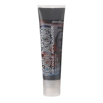 Colore per corpo e viso STAR GAZER - Primary Shade Face Paint  100Ml - Nero, STAR GAZER