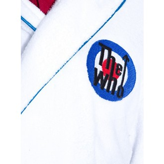 accappatoio the Who - Logo - bianca / Blu, Who