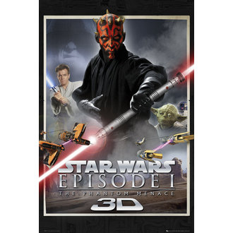 poster Star Wars - Episodio 1 One Sheet - GB Posters, GB posters