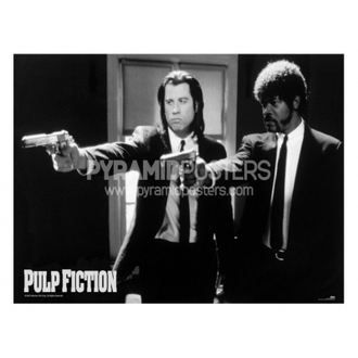 poster - Pulp Fiction (B & N Guns) - GPP51003 - Pyramid Posters
