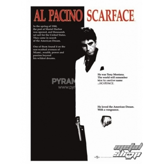poster Scarface (Film One-sheet) - PP30091 - Pyramid Posters