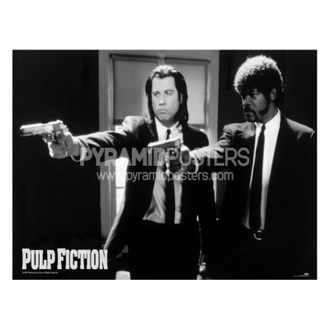 poster - Pulp Fiction (B & N Guns) - PP31059 - Pyramid Posters