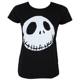 t-shirt film donna Nightmare Before Christmas - CRACKED FACE - PLASTIC HEAD, PLASTIC HEAD